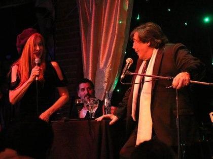 Cacho Castaña y Nacha Guevara compartieron escenario en 2018 con un show de tango
