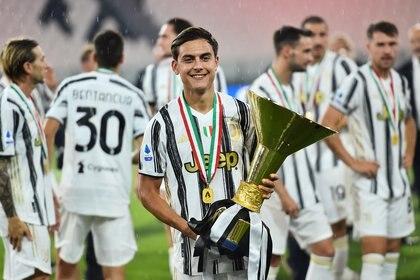 Paulo Dybala viene de tener una gran temporada en Juventus (REUTERS/Massimo Pinca)