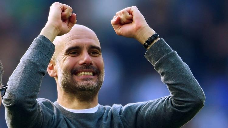Juventus contratará a Pep Guardiola con el objetivo de ganar la Champions League, competencia que consiguió en dos oportunidades con Barcelona, peronunca conBayern Munich y Manchester City (REUTERS/Toby Melville)