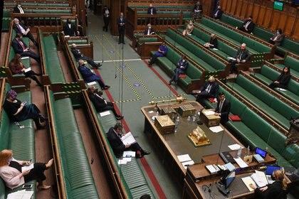 Foto del Parlamento británico:  UK Parliament/Jessica Taylor/via REUTERS