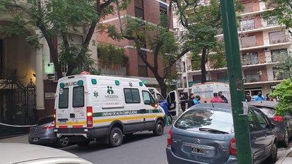 La evacuación de adultos mayores ocurrió en un geriátrico situado en Ugarteche al 2800, Palermo