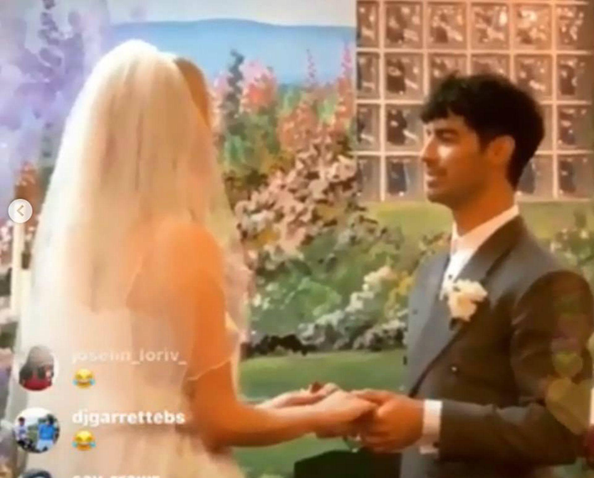 Joe Jonas y Sophie Turner sorprendieron al casarse en Las Vegas( Foto: Instagram)