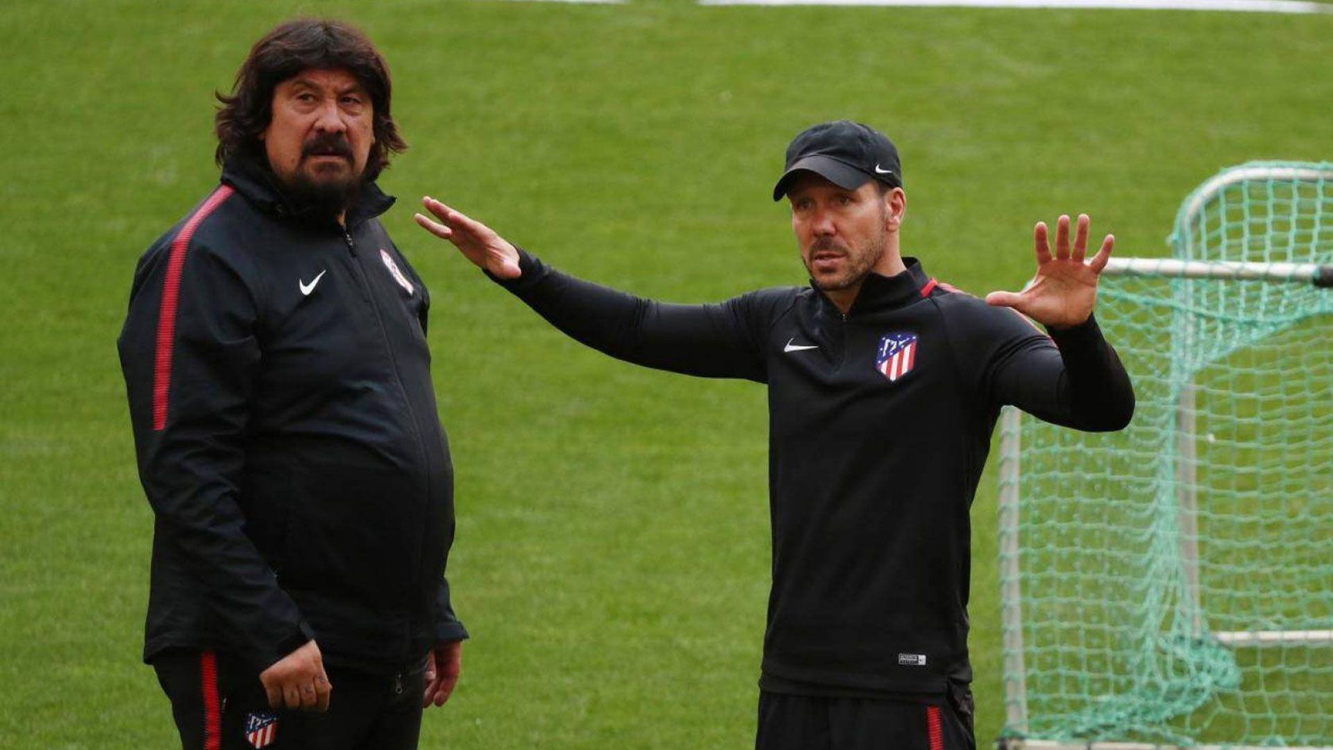 Burgos y Simeone trabajan juntos hace diez años (Reuters)
