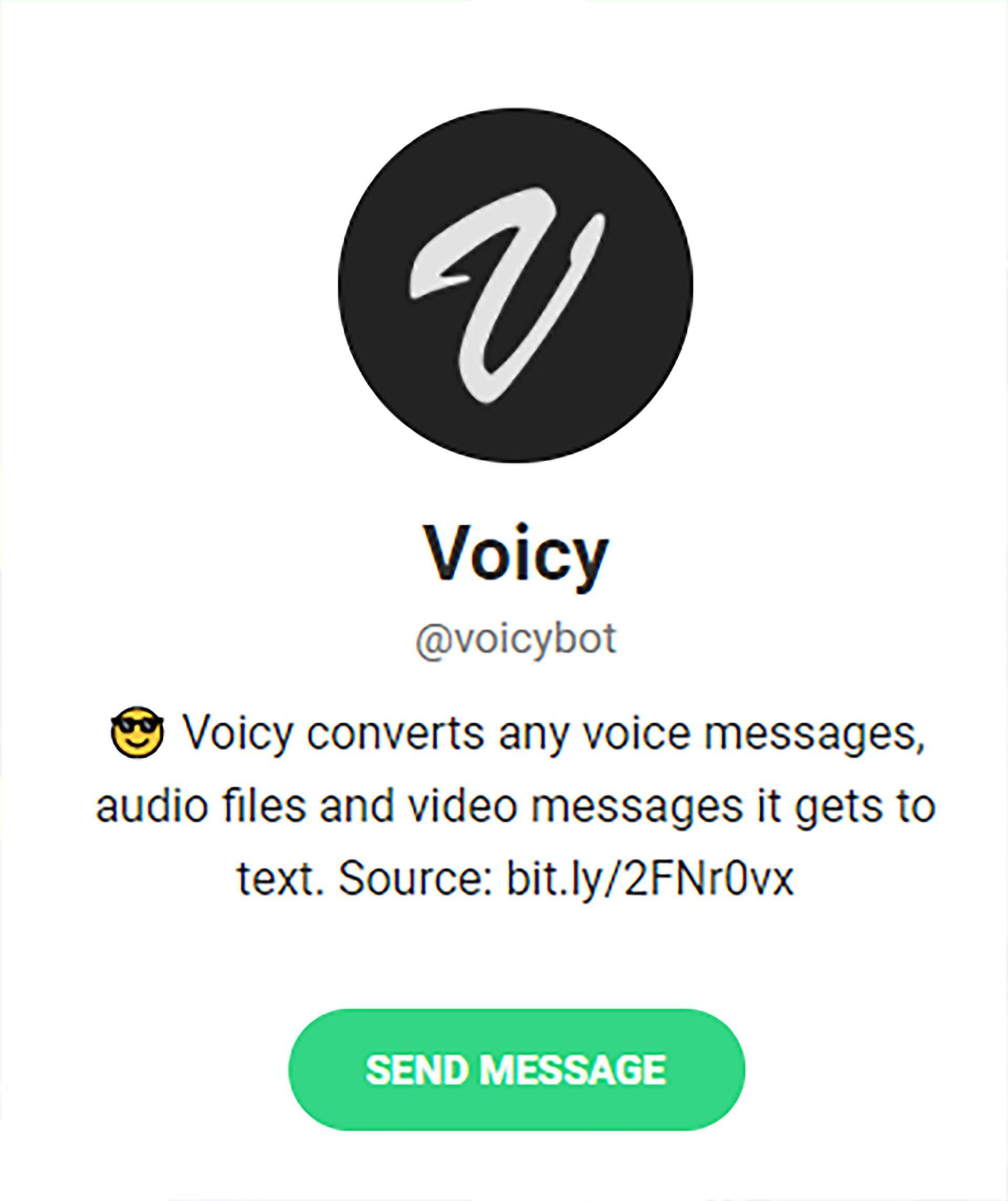apps para pasar de audio a txt en WhatsApp y Telegram