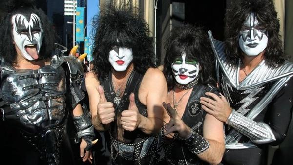 """Los integrantes de """"Kiss"""""""