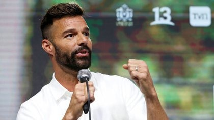 Ricky Martin (REUTERS/Rodrigo Garrido)