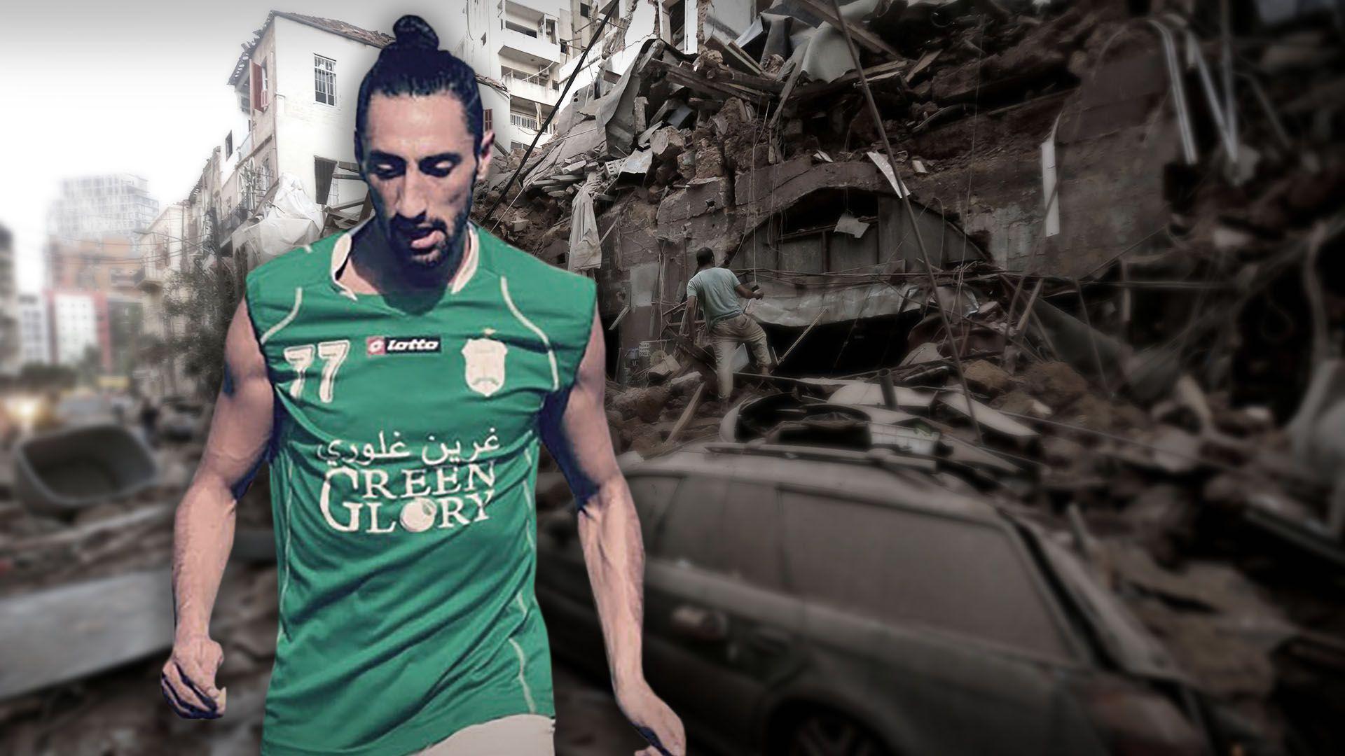 lucas galan futbolista en libano