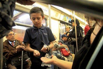 Organizaciones internacionales aseguran que México es uno de los países donde trabajan más niños (Foto: Cuartoscuro)