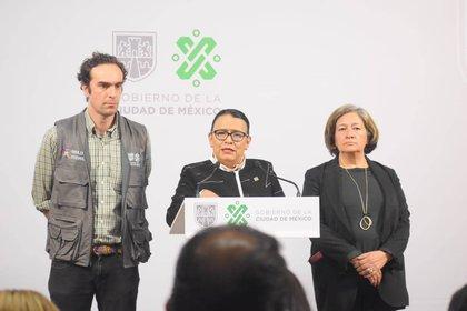 Desde el 5 de diciembre de 2018 se desempeñó como secretaria de Gobierno de la Ciudad de México.(Foto: Twitter/ @rosaicela_)
