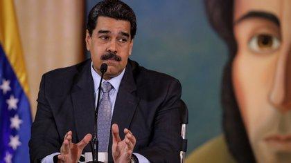 En la imagen, el presidente de Venezuela, Nicolás Maduro. EFE/Rayner Pena/Archivo