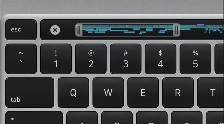 La MacBook Pro renovó su teclado.
