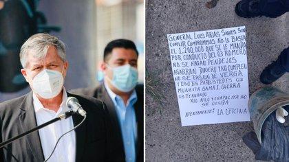 Fiscalía investiga amenazas del CJNG contra mando de Guadalajara