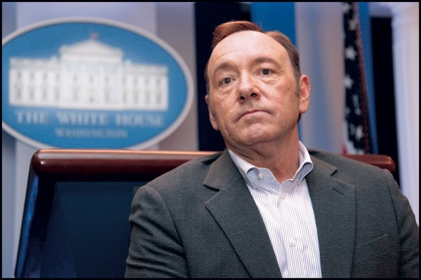 "Kevin Spacey, protagonista de ""House of Cards"""