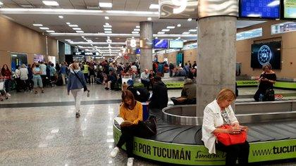 Por una asamblea de Intercargo, no se están entregando las valijas