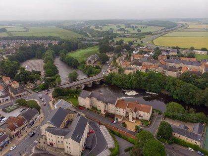 Así es Wetherby, el pequeño pueblo inglés cercano a Leeds en el que vive Marcelo Bielsa (Shutterstock)