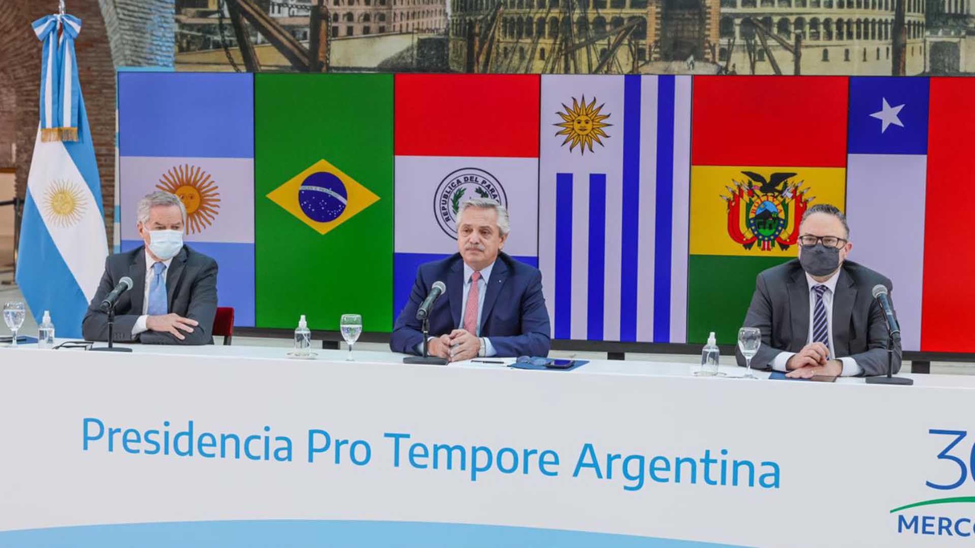 Alberto Fernández - Cumbre de Jefes de Estado del Mercosur