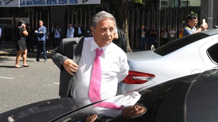 El ex presidente Eduardo Duhalde (Maximiliano Luna)