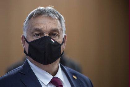 Viktor Orban, Prime Minister of Hungary INTERNATIONAL EUROPE POLICY HUNGARY ZUCCHI / EUC / ZUMA PRESS / CONTACTOPHOTO