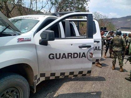 Dos elementos de la Guardia Nacional perdieron la vida tras una emboscada en Michoacán (Foto: Twitter/fernand17704066)