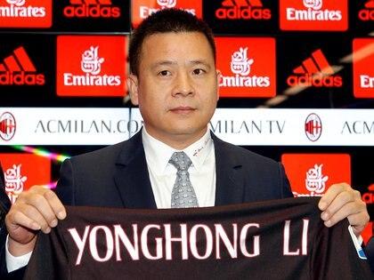 Yonghong Li no reembolsó un préstamo de 32 millones (REUTERS/Alessandro Garofalo/archivo)