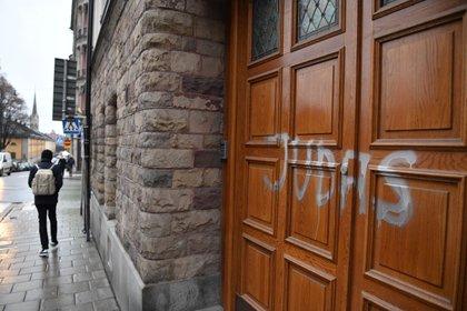 Escribieron Judas en una de las propiedades de Zlatan Ibrahimovic (Shutterstock)