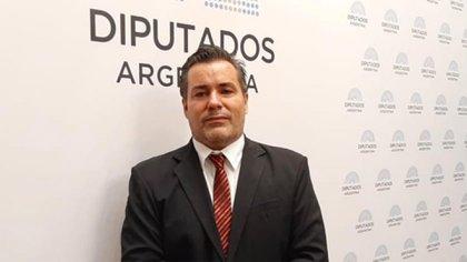 El diputado nacional del Frente de Todos Juan Ameri