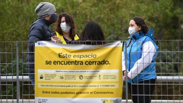 La Ciudad de Buenos Aires continuará en la fase del aislamiento social, preventivo y obligatorio, al igual que los municipios bonaerenses que abarcan el AMBA (Maximiliano Luna)