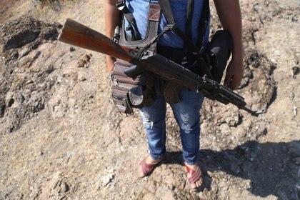 Las autodefensas y el crimen han chocado por años en Michoacán. (Foto: Cuartoscuro)
