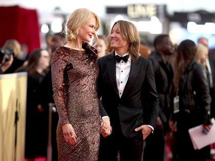 La mirada cómplice entre Nicole KIdman y su marido, el cantante Keith Urban