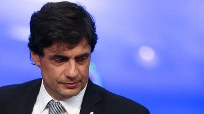 Hernán Lacunaza, ministro de Hacienda (REUTERS/Agustin Marcarian)