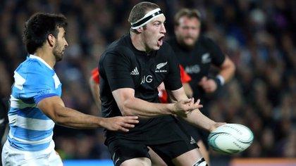 Los All Blacks aplastaron a los Pumas en el segundo tiempo (AFP)