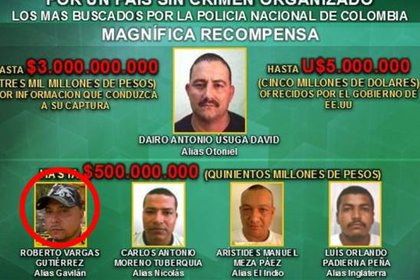"""Por """"Gavilán"""" las autoridades ofrecían una millonaria recompensa por su paradero"""