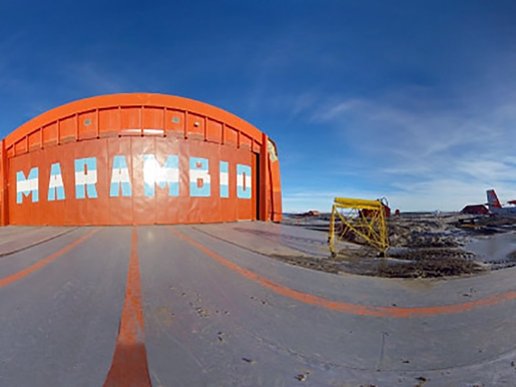La Base Marambio es la más importante que tiene Argentina en la Antártida (Universidad de la Defensa Nacional)