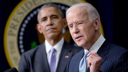 Obama y Biden
