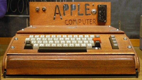 Una computadora Apple I ensamblada. (Wikipedia)