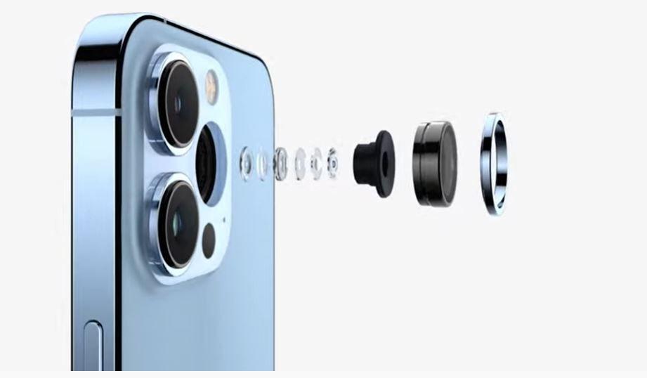 Cámara del iPhone 13 Pro