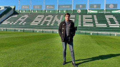 Sanguinetti tomó la decisión de no contar más con el jugador y desde el club le buscarán una salida