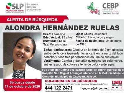 (Foto: Twitter Secretaría de Seguridad Pública San Luis Potosí @SSP_SLP)