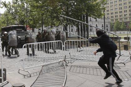 Protestas en Chile. EFE/Mario Ruiz/Archivo