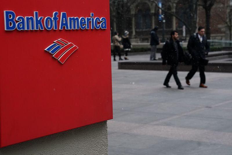 El logo del Bank of America en Manhattan, Nueva York (REUTERS/Carlo Allegri)
