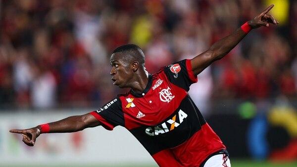 Vinícius Júnior tiene apenas 17 años (Getty Images)