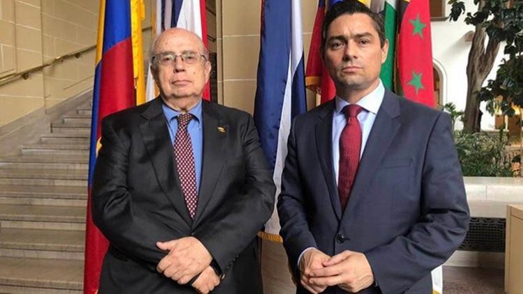 Gustavo Tarre Briceño y Carlos Vecchio