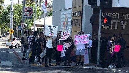 El Free Britney se hizo escuchar nuevamente en las últimas semanas pese a la pandemia