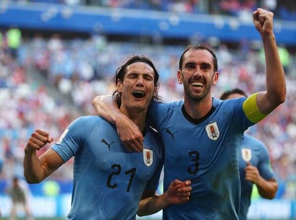 Uruguay, líder del Grupo A, se encontrará con Portugal en Sochi(Reuters)