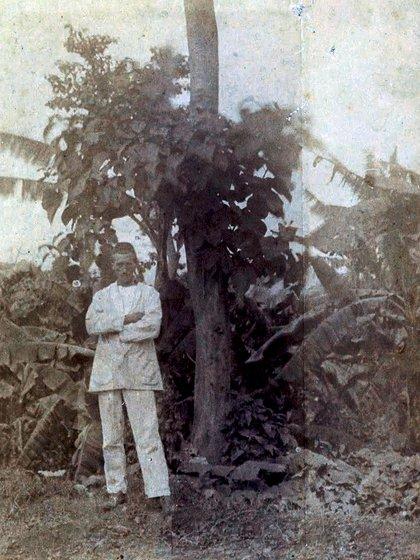 Arthur Rimbaud en Harar en 1883