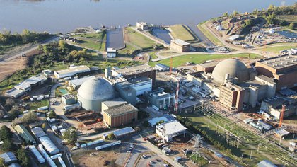 La central nuclear de Atucha