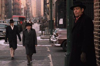 """Una escena de Carmine Caridi en """"El Padrino II"""""""