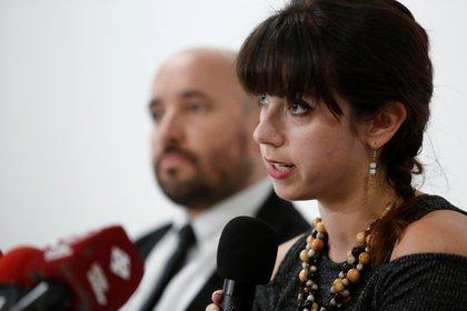 En la imagen, Natalie Southwick, coordinadora del Programa de Centroamérica y Sudamérica del CPJ. EFE/José Jácome/Archivo