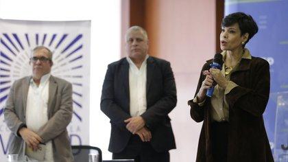 7 de febrero de 2020. Ante la Jurisdicción Especial para la Paz un grupo de víctimas del atentado al club El Nogal, cometido por la guerrilla de las Farc, presentó un segundo informe sobre este hecho ocurrido hace 17 años. (Colprensa – Sergio Acero).