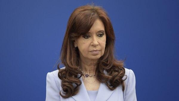La ex presidenta Cristina Kirchner (AFP)